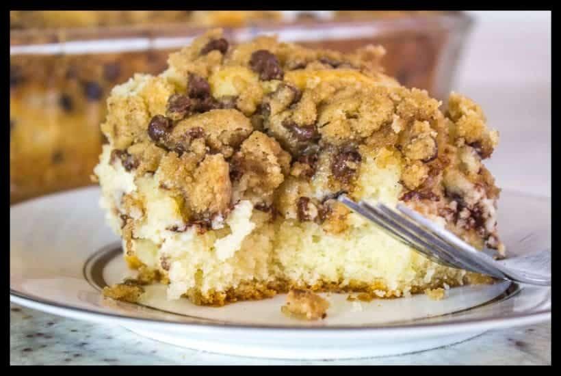 Cannoli Crumb Cake featured image