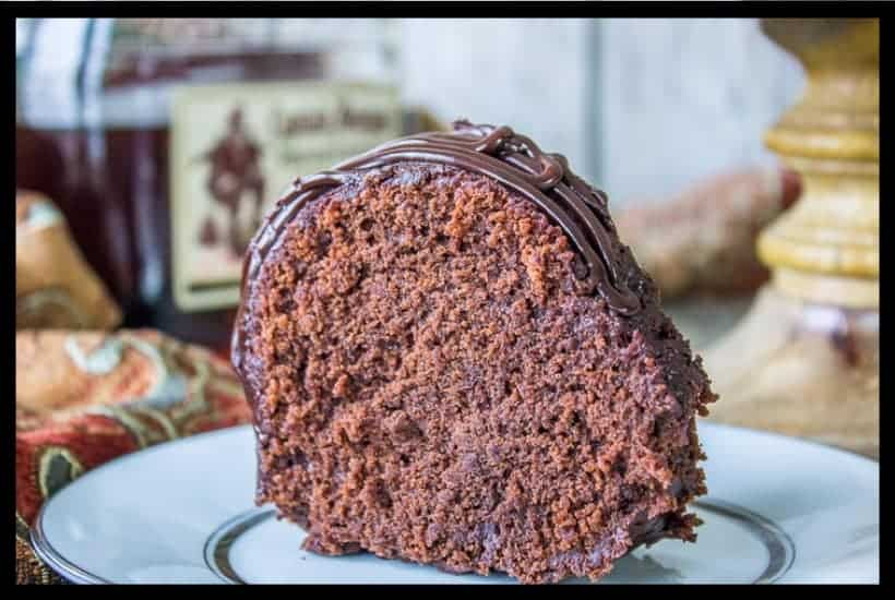 Chocolate Rum Cake with a Kick featured image