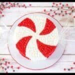 Giant Peppermint Candy Cake featured image