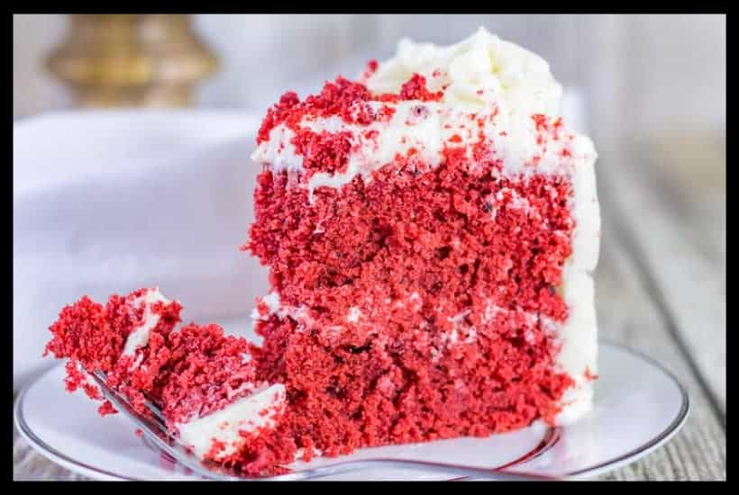 Sour Cream Red Velvet Cake featured image