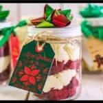 Easy Mason Jar Cake Gifts featured image
