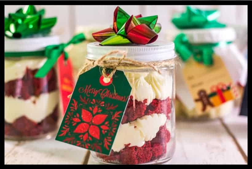 Easy Mason Jar Cake Gifts featured image