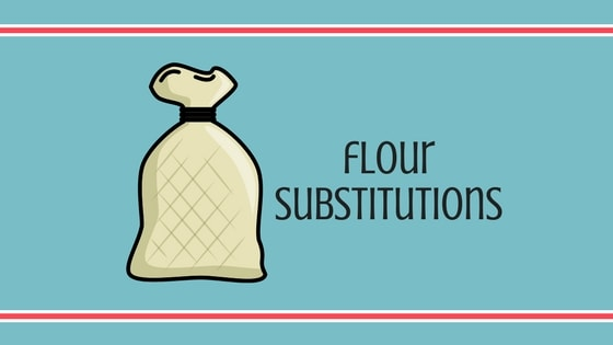 flour substitution graphic