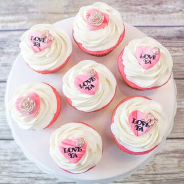 valentines cupcake toppers featured image