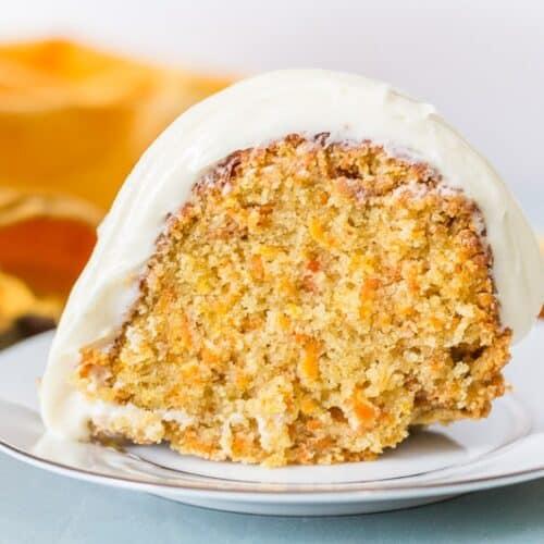 Caramel Carrot Cake With Caramel Cream Cheese Glaze I Scream For