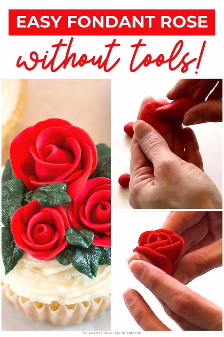 Fondant Rose New Pinterest graphic