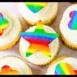 Rainbow Buttercream Cutouts Featured Image