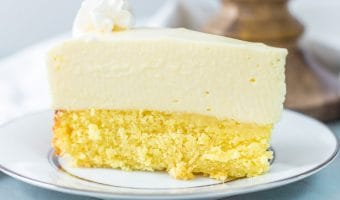 Cake Bottom Lemon Cheesecake