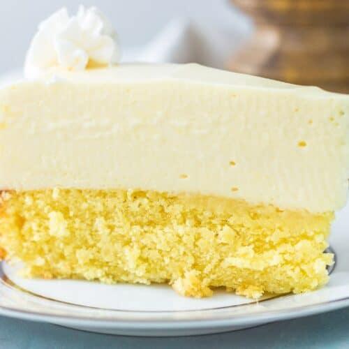 Cake Bottom Lemon Cheesecake