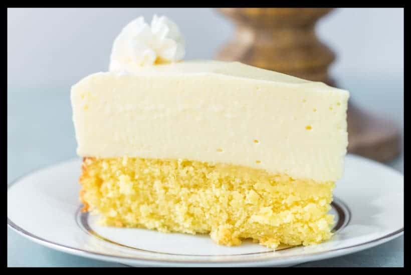 Cake Bottom Lemon Cheesecake featured image