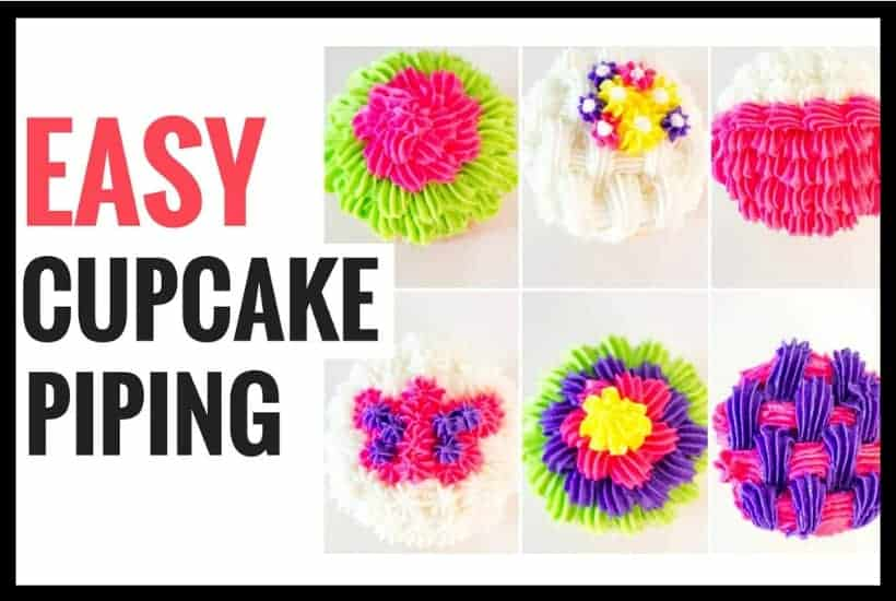 Easy Cupcake Decorating Using a Star Tip featured image