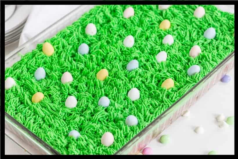 Loaded Easter Blondies featured image