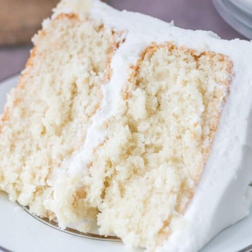 Moist White Cake - I Scream for Buttercream