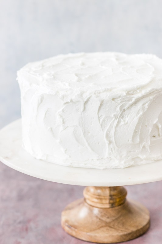 Moist White Cake I Scream For Buttercream