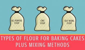 Types of Flour for Baking Cakes Blog Graphic