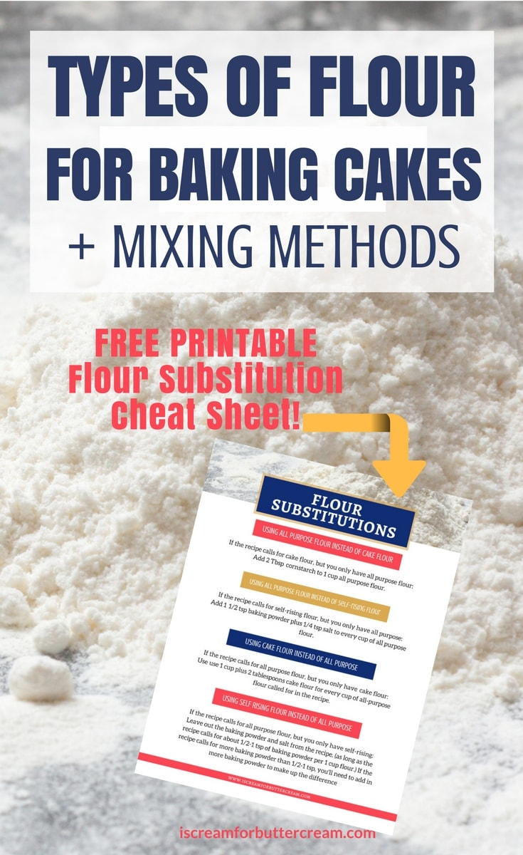 Types of flour for baking cakes pinterest short pin
