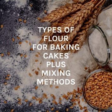 types of flour featured image