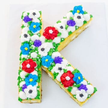 letter cake featured image