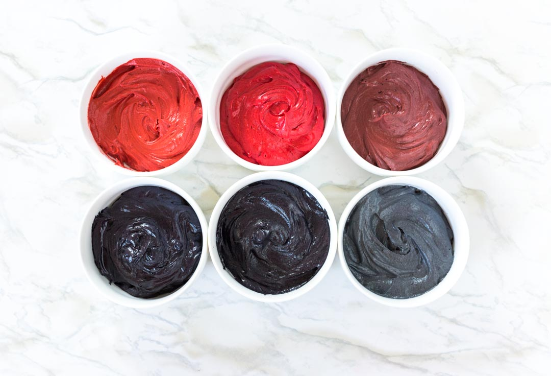Coloring Buttercream Dark Colors (A Comparison) - I Scream for ...