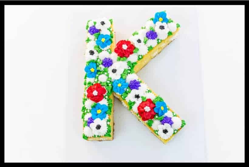 Floral Initial Cake featured image