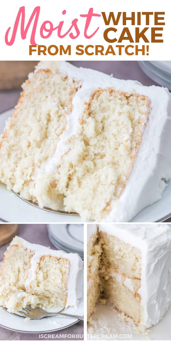 Moist White Cake Pin Graphic