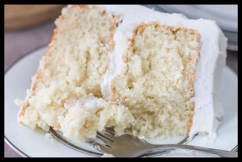 Moist White Cake featured image