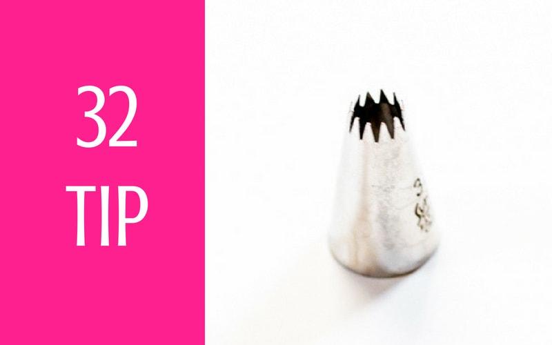 32 piping tip