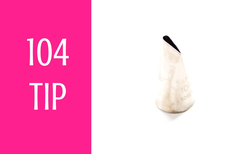 104 piping tip