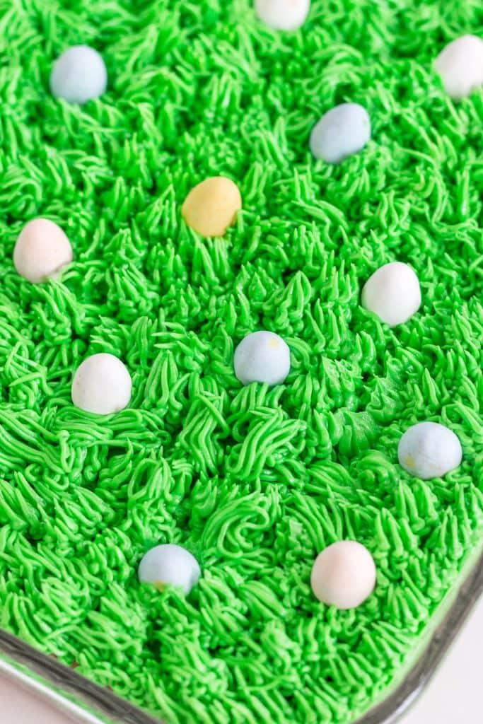 Easter Grass Cake