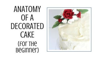 Anatomy of a Decorated Cake Blog cover