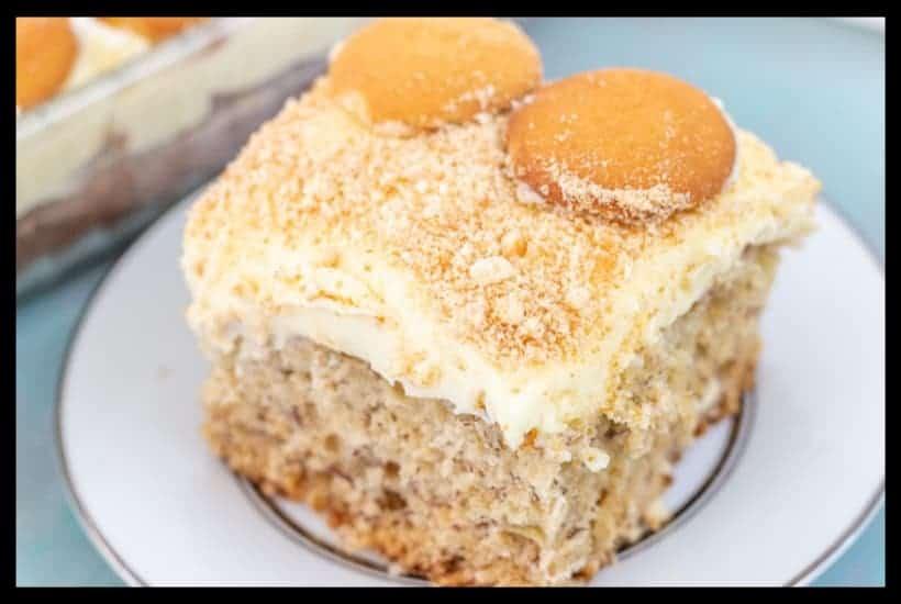 Banana Pudding Cake Featured Image
