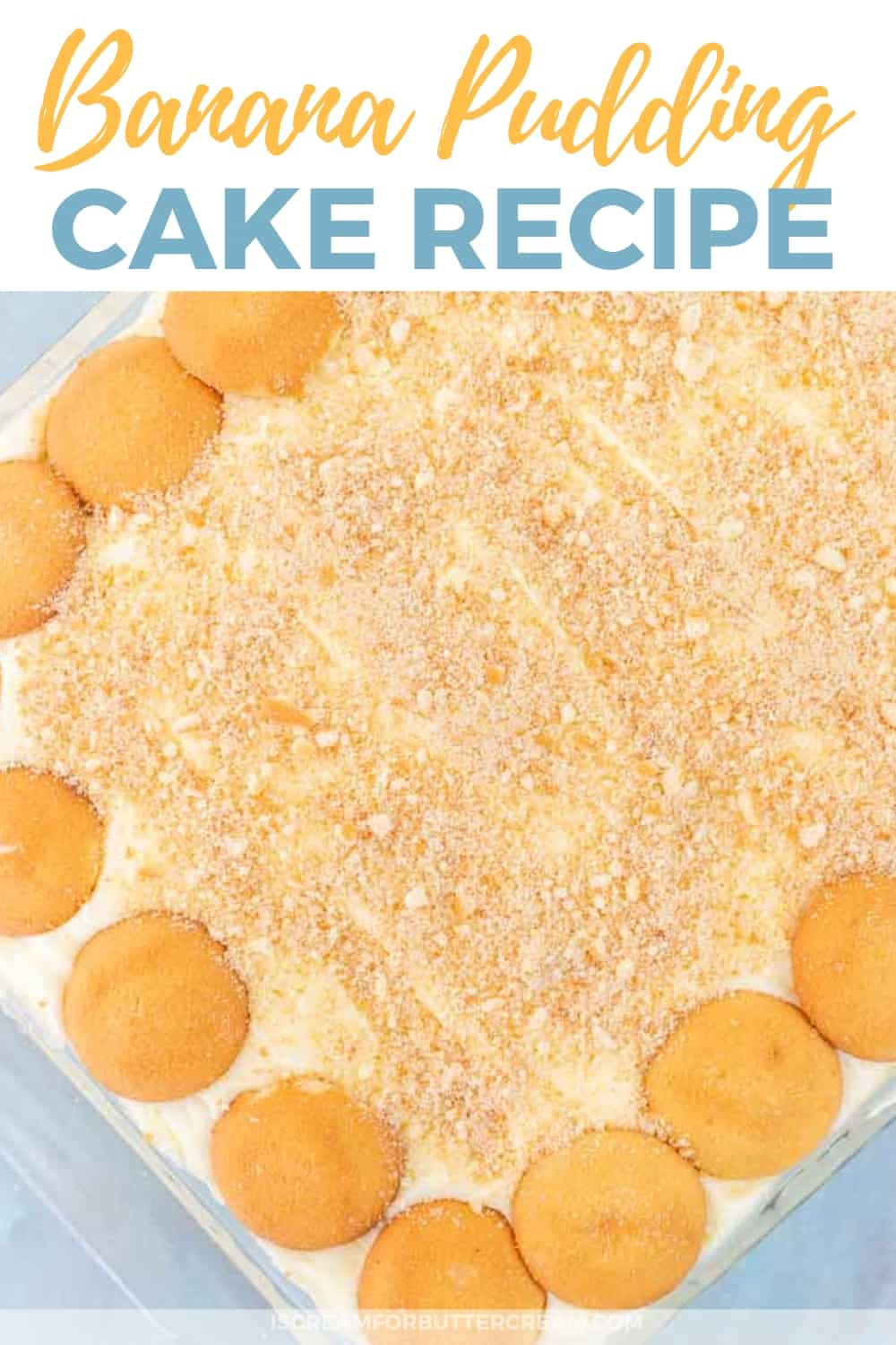 Banana Pudding Cake New Pinterest Graphic 1