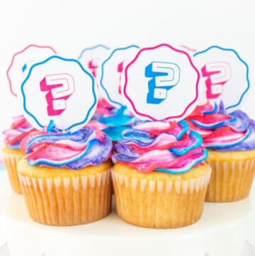 gender reveal cupcakes featured image