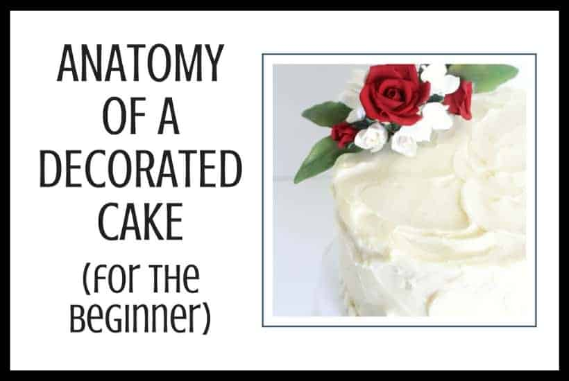 Anatomy of a Decorated Cake Featured Image