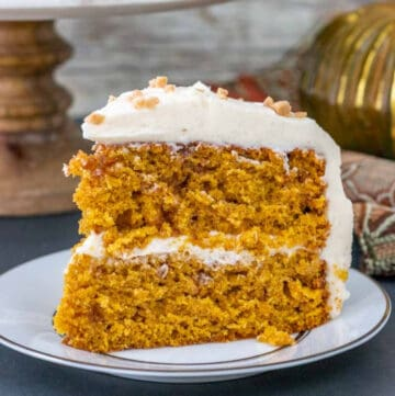 pumpkin toffee cake featured image