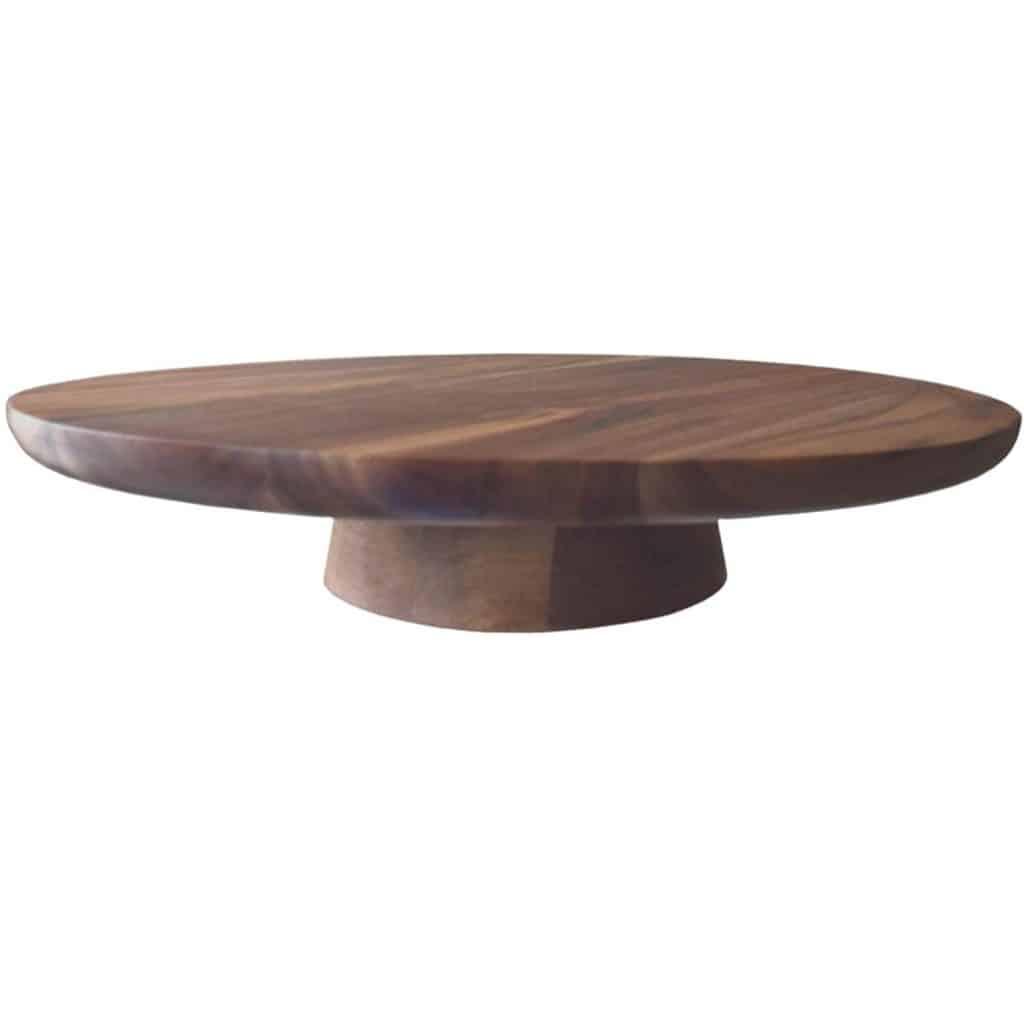Acacia Wood Cake Stand