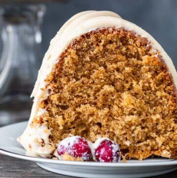 Brown Sugar Spice Cake