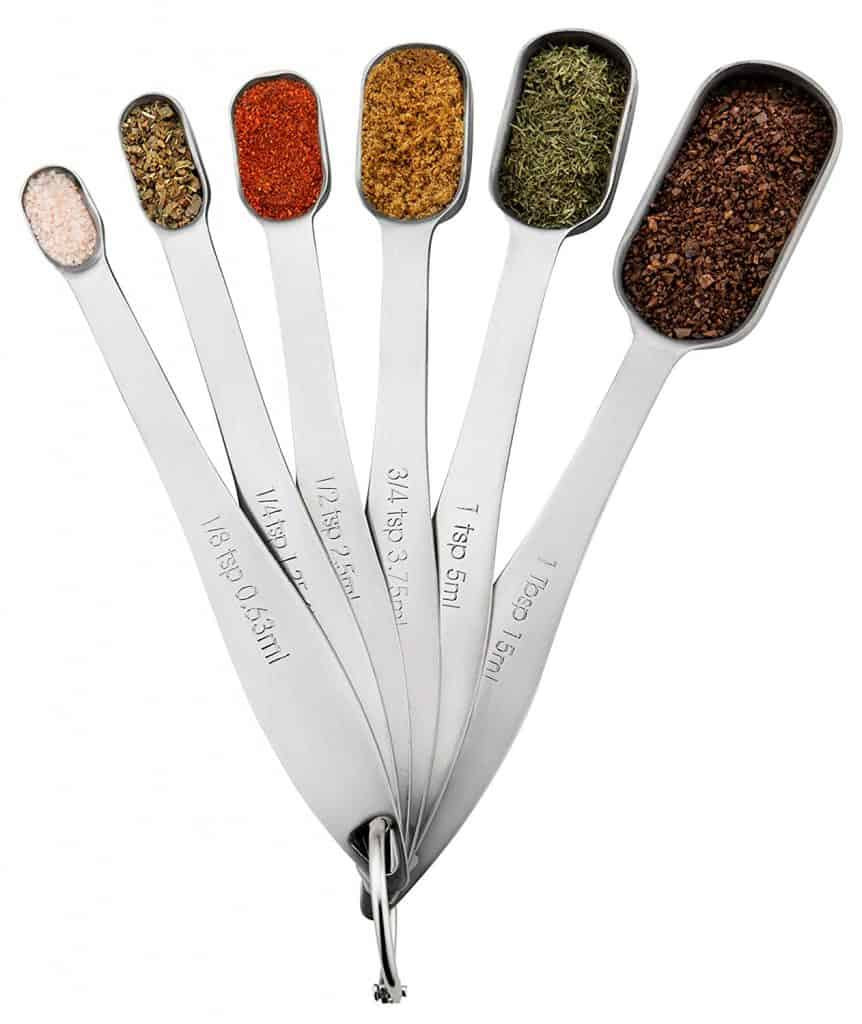 Fits in Spice Jars Measuring Spoons
