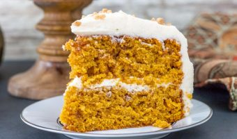 Pumpkin Toffee Crunch Cake