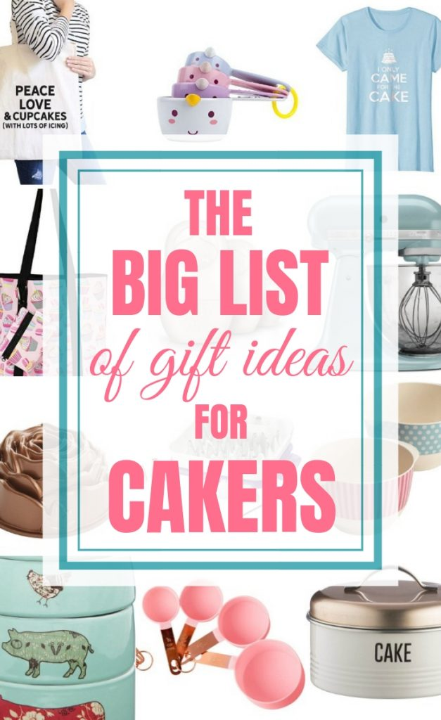Gift Ideas for Cakers