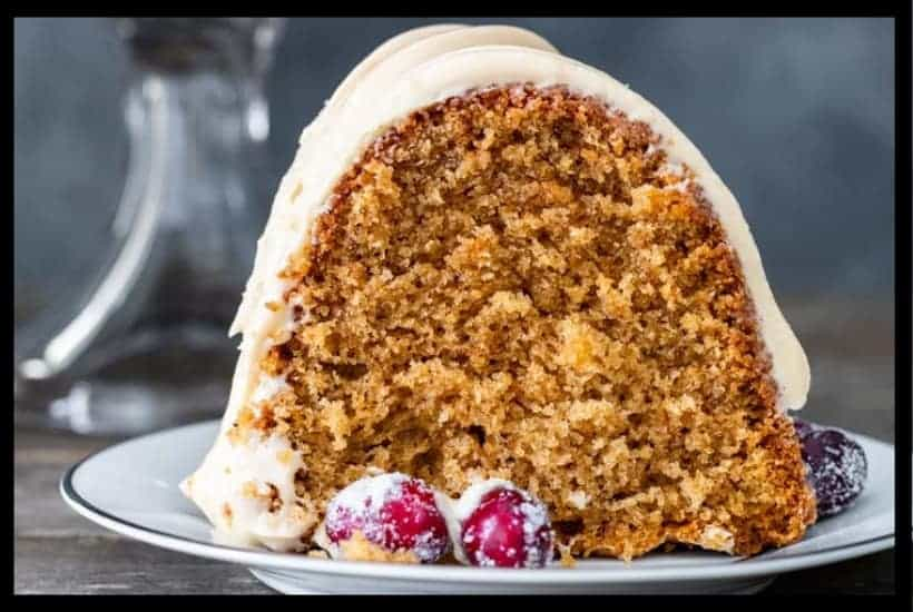Brown Sugar Spice Cake Featured Image