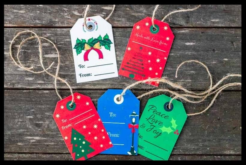 Christmas Gift Tags 2018 Featured Image