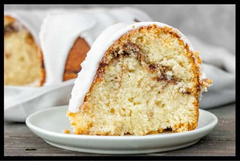 Cinnamon Swirl Sour Cream Cake Featured Image