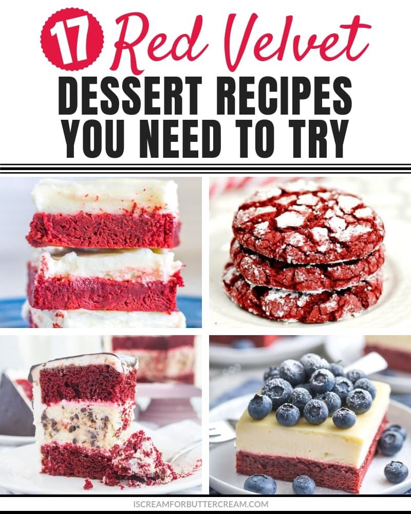 17 Red Velvet Dessert Recipes You Need to Try