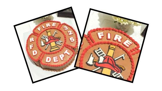 fireman cake graphic