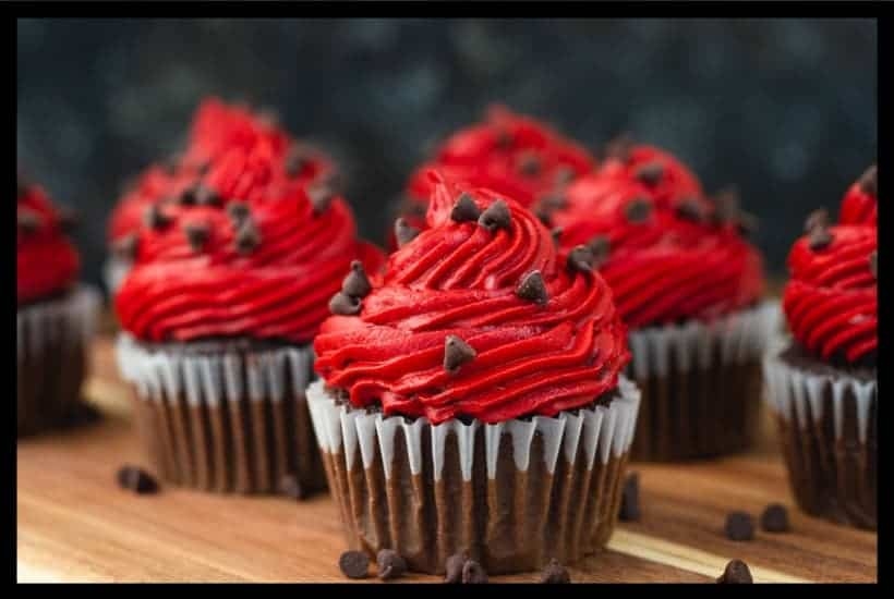 Chocolate Chip Red Velvet Buttercream Featured Photo