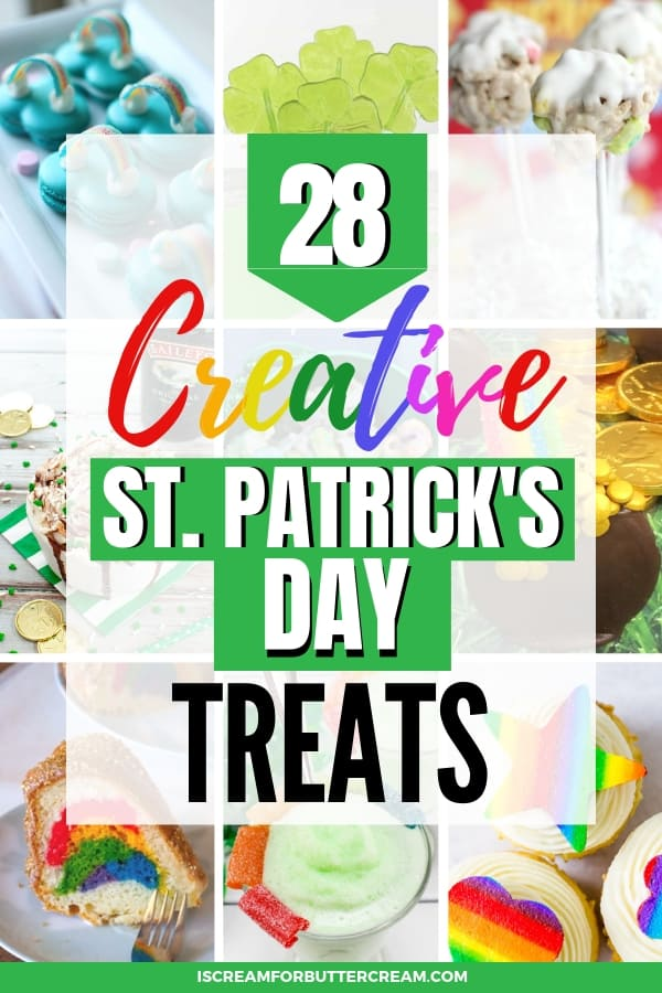 28 Creative and Cute St. Patrick's Day Treats Pinterest