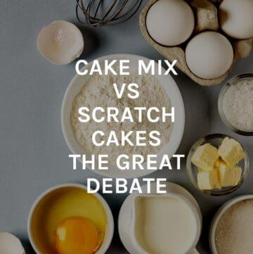 cake mix vs scratch cake featured image