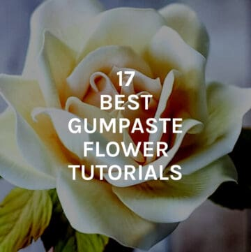 best gumpaste flower tutorials featured image