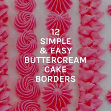 simple and easy bc buttercream featured image